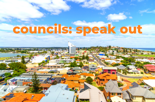 Cities Appeal: Local Councils Need to Make Our Cities and Towns Nuclear Target Free and Urge the Australian Government to Ban Nuclear Weapons.
