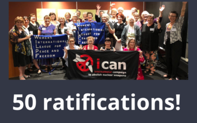 Celebrate the Nuclear Ban Treaty achievement – and call on Australia to join.