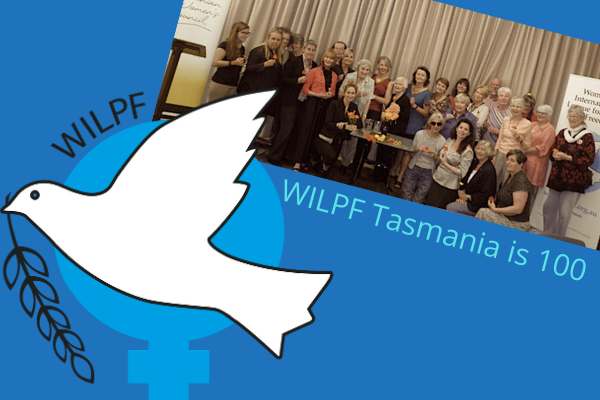 WILPF Dove and WILPF Tasmania group photo